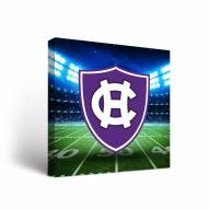 Holy Cross Crusaders Stadium Canvas Wall Art