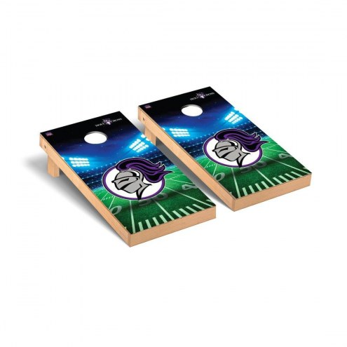 Holy Cross Crusaders Stadium Cornhole Game Set
