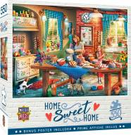 Home Sweet Home Baking Bread 550 Piece Puzzle