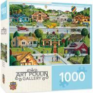 Hometown Gallery Bungalowville 1000 Piece Puzzle
