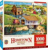 Hometown Gallery Last Swim of Summer 1000 Piece Puzzle