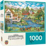Hometown Gallery Millside Picnic 1000 Piece Puzzle
