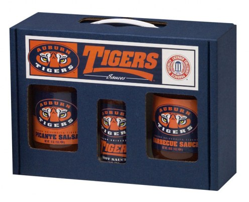 Hot Sauce Harry's Auburn Tigers Tailgate Kit