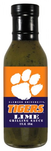 Hot Sauce Harry's Clemson Tigers Lime Grilling Sauce