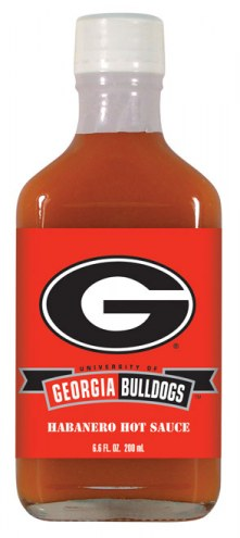 Hot Sauce Harry's Georgia Bulldogs Habanero Hot Sauce