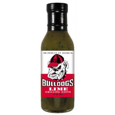 Hot Sauce Harry's Georgia Bulldogs Lime Grilling Sauce