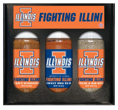 Hot Sauce Harry's Illinois Fighting Illini Boxed Rubs