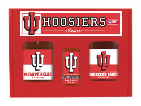 Hot Sauce Harry's Indiana Hoosiers Tailgate Kit