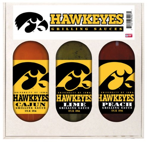 Hot Sauce Harry's Iowa Hawkeyes Grilling Sauce Set