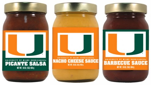 Hot Sauce Harry's Miami Hurricanes Triple Play