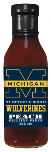Hot Sauce Harry's Michigan Wolverines Peach Grilling Sauce