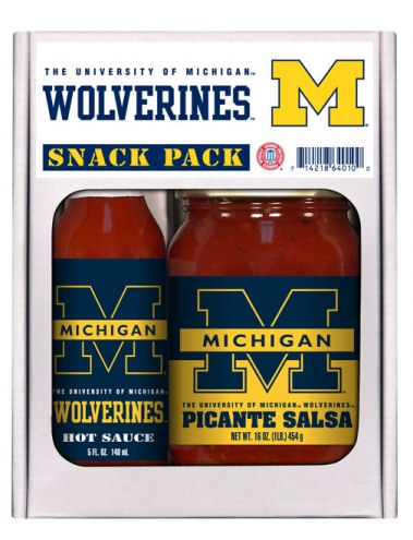 Hot Sauce Harry's Michigan Wolverines Salsa/Hot Sauce Set