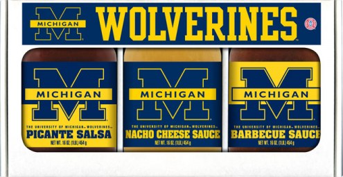 Hot Sauce Harry's Michigan Wolverines Triple Play