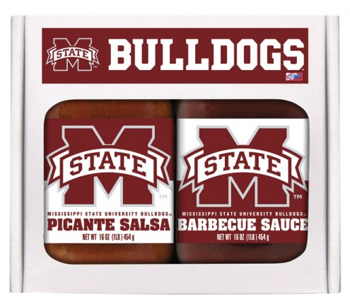 Hot Sauce Harry's Mississippi State Bulldogs BBQ/Salsa Set