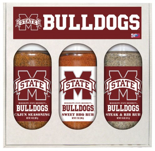 Hot Sauce Harry's Mississippi State Bulldogs Boxed Rubs