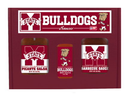 Hot Sauce Harry's Mississippi State Bulldogs Tailgate Kit