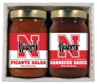 Hot Sauce Harry's Nebraska Cornhuskers BBQ/Salsa Set