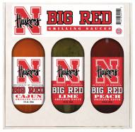 Hot Sauce Harry's Nebraska Cornhuskers Grilling Sauce Set