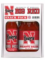 Hot Sauce Harry's Nebraska Cornhuskers Salsa/Hot Sauce Set