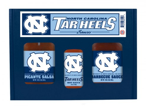 Hot Sauce Harry's North Carolina Tar Heels Tailgate Kit