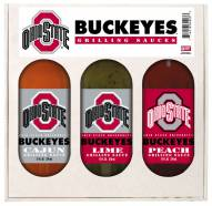 Hot Sauce Harry's Ohio State Buckeyes Grilling Sauce Set