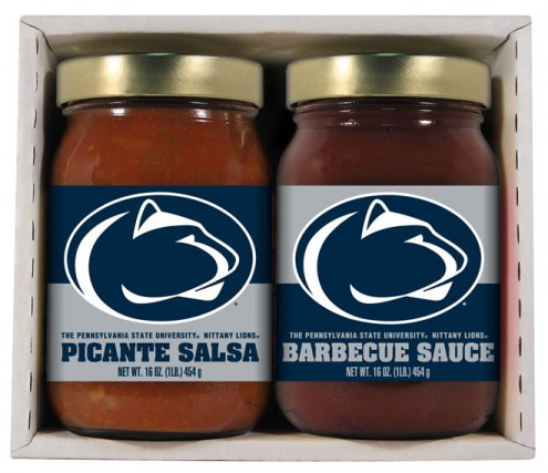 Hot Sauce Harry's Penn State Nittany Lions BBQ/Salsa Set