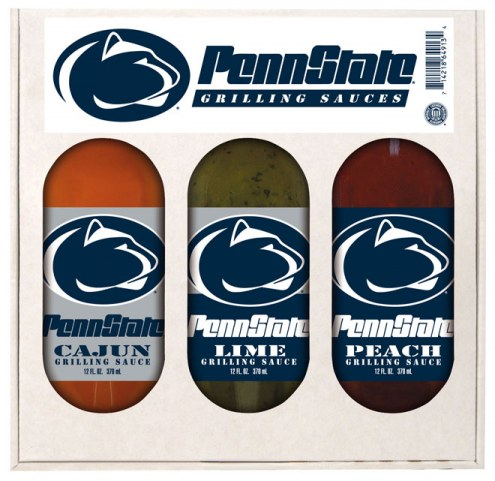 Hot Sauce Harry's Penn State Nittany Lions Grilling Sauce Set