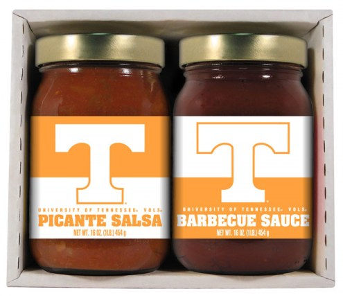 Hot Sauce Harry's Tennessee Volunteers BBQ/Salsa Set