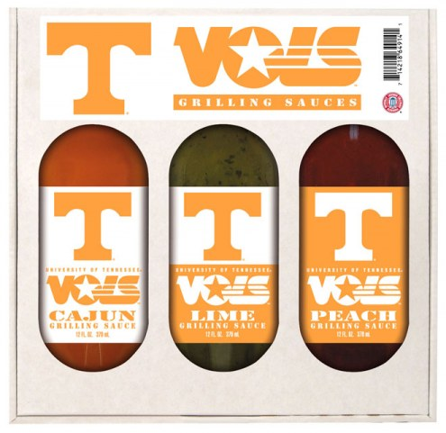 Hot Sauce Harry's Tennessee Volunteers Grilling Sauce Set