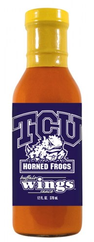 Hot Sauce Harry's Texas Christian Horned Frogs Buffalo Wing Sauce