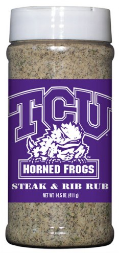 Hot Sauce Harry's Texas Christian Horned Frogs Steak & Rib Rub