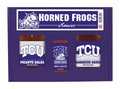 Hot Sauce Harry's Texas Christian Horned Frogs Tailgate Kit