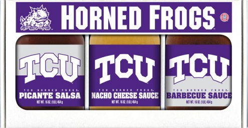 Hot Sauce Harry's Texas Christian Horned Frogs Triple Play