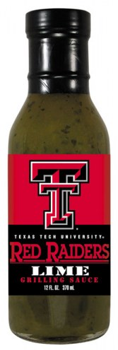 Hot Sauce Harry's Texas Tech Red Raiders Lime Grilling Sauce
