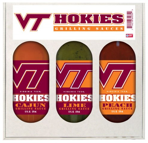 Hot Sauce Harry's Virginia Tech Hokies Grilling Sauce Set