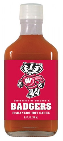 Hot Sauce Harry's Wisconsin Badgers Habanero Hot Sauce