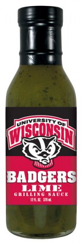 Hot Sauce Harry's Wisconsin Badgers Lime Grilling Sauce
