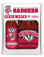 Hot Sauce Harry's Wisconsin Badgers Salsa/Hot Sauce Set