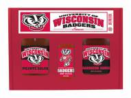 Hot Sauce Harry's Wisconsin Badgers Tailgate Kit