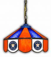 "Houston Astros 14"" Glass Pub Lamp"