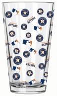 Houston Astros 16 oz. All Over Print Pint Glass
