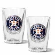 Houston Astros 2 oz. Prism Shot Glass Set