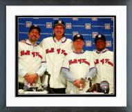 Houston Astros Baseball Hall of Fame inductees Framed Photo