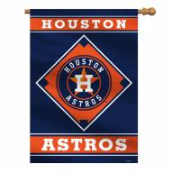 "Houston Astros 28"" x 40"" Banner"