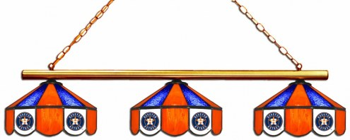 Houston Astros 3 Shade Pool Table Light