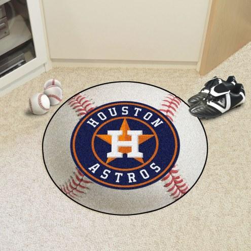 Houston Astros Baseball Rug