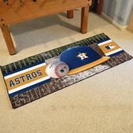 Houston Astros Baseball Runner Rug