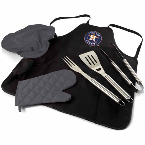 Houston Astros BBQ Apron Tote Set