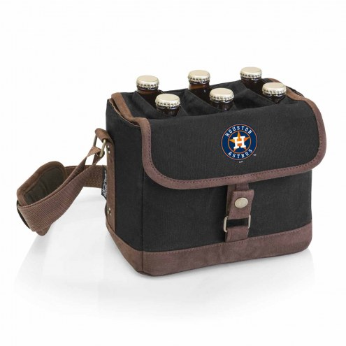 Houston Astros Beer Caddy Cooler Tote with Opener
