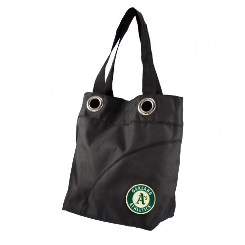 Houston Astros Black Sheen Tote Bag